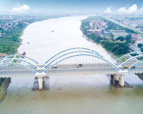Cầu Đông Trù, Đường 5 Kéo Dài, Long Biên, Hà Nội