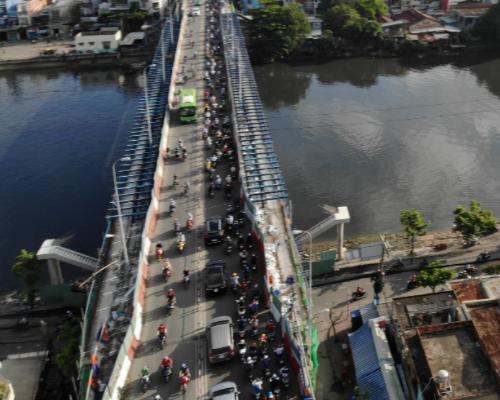 Cầu Kênh Tẻ, Đ Nguyễn Hữu Thọ, Q. 7, Tp. Hồ Chí Minh