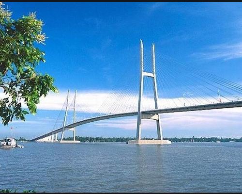 Cầu Mỹ Thuận, Tân Hoà, Vĩnh Long, Việt Nam