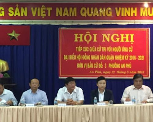 Công an phường An Phú Quận 2, 268 Nguyễn Hoàng, Quận 2