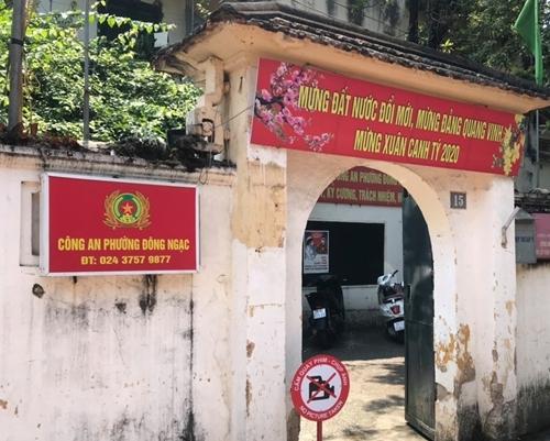 Công an phường Đông Ngạc, Ngõ 35 Đông Ngạc, Từ Liêm, Hà Nội