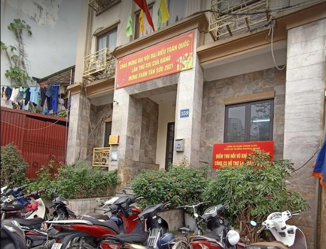 Công An Phường Khương Trung, 359 Đ. Trường Chinh, Thanh Xuân, Hà Nội