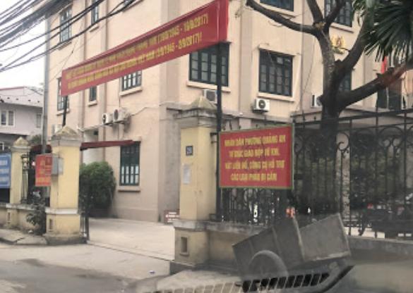 Công An Phường Quảng An, 28 Đường Tây Hồ, Quảng An, Hà Nội