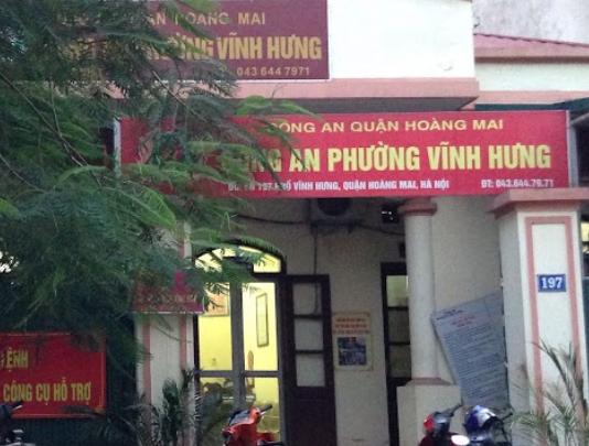 Công An Phường Vĩnh Hưng, 197 Vĩnh Hưng, Hoàng Mai, Hà Nội