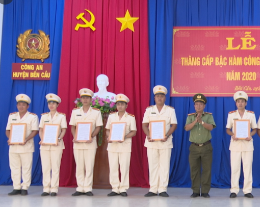 Công an huyện Bến Cầu, Khu phố 2, thị trấn Bến Cầu, tỉnh Tây Ninh