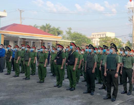 Công an huyện Thạnh Hóa Long An, Đường Lê Duẩn, thị trấn Thạnh Hóa