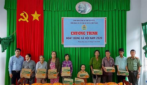 Công An Huyện Vĩnh Thuận, QL63, TT. Vĩnh Thuận, tỉnh Kiên Giang