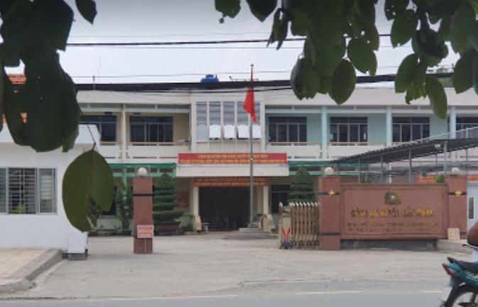 Công an huyện Cần Giuộc, 12 Đ Thái Bình, xã Trường Bình, huyện Cần Giuộc
