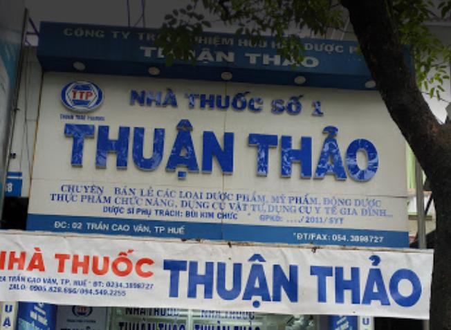 Nhà Thuốc Thuận Thảo Huế, 2 Trần Cao Vân, Vĩnh Ninh, Thành phố Huế