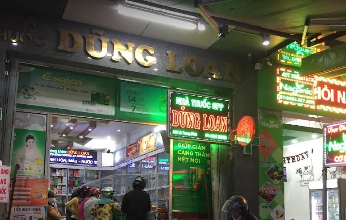 Nhà thuốc Dũng Loan, 243 Lê Trung Đình, Nguyễn Ngiêm, Quảng Ngãi
