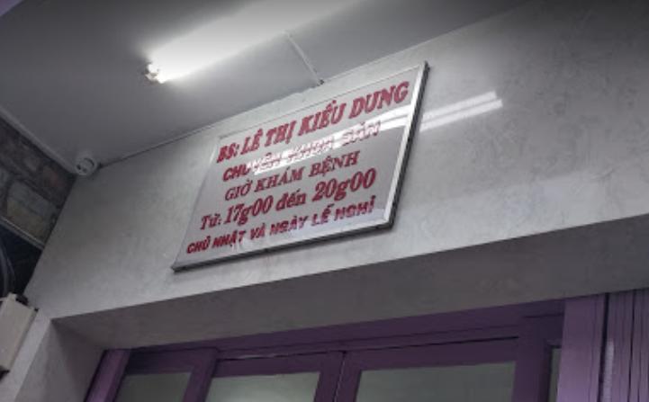 Phòng Khám bác sĩ Kiều Dung, 221 Nguyễn Thiện Thuật, Phường 1, Quận 3