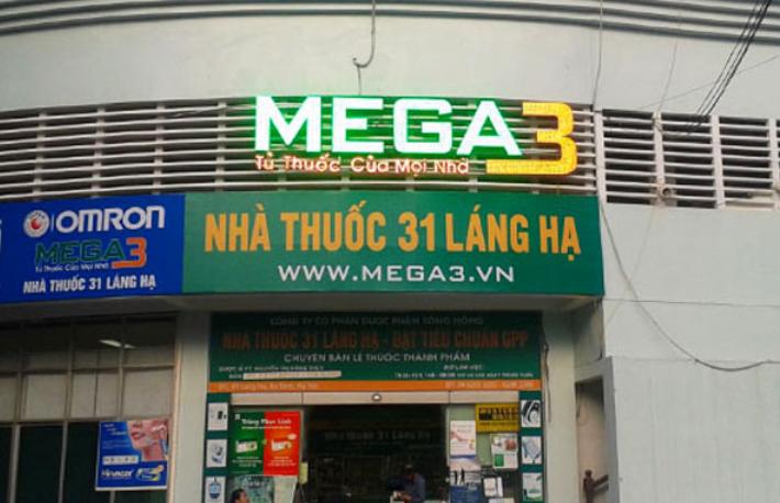 Siêu Thị Thuốc Mega3, Nhà thuốc 31 Láng Hạ, Hà Nội