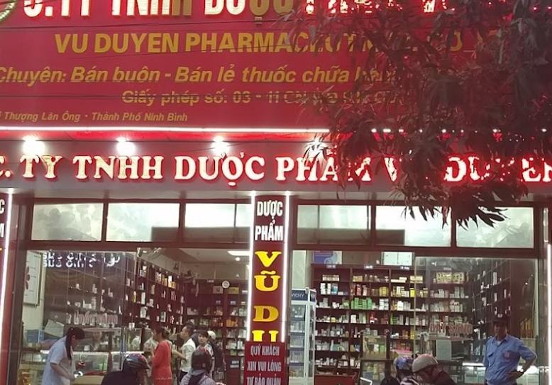 Nhà Thuốc Vũ Duyên Ninh Bình, 15 Hải Thượng Lãn Ông, Phú Thành, Ninh Bình