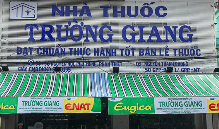 Nhà Thuốc Trường Giang, 34 Nguyễn Hội, Phú Trinh, Phan Thiết, Bình Thuận
