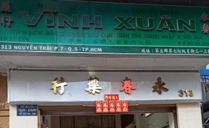 Nhà Thuốc Vĩnh Xuân, 313 Nguyễn Trãi, Phường 7, Quận 5