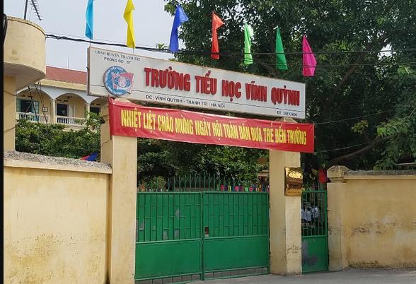 Trường tiểu học Vĩnh Quỳnh, Thanh Trì, Hà Nội