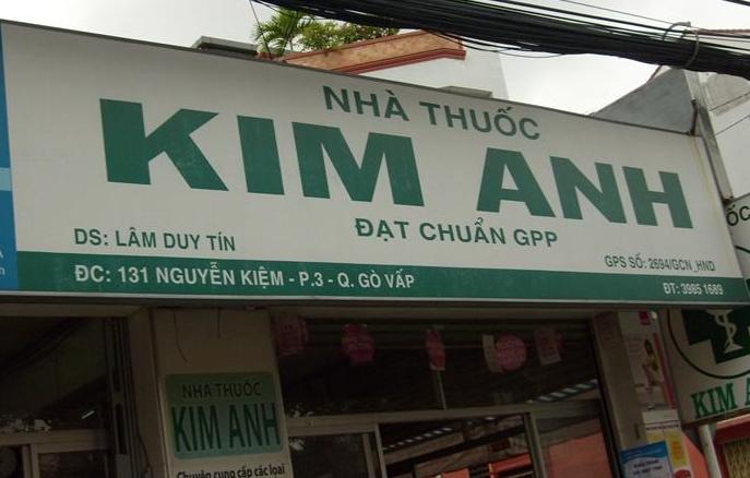 Nhà Thuốc Kim Anh, 131 Nguyễn Kiệm, Phường 3, Gò Vấp
