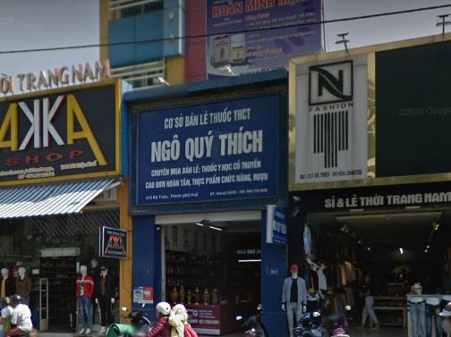 Nhà thuốc Ngô Quý Thích, 215 Bà Triệu tổ 1, Xuân Phú, Huế