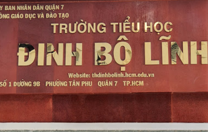Trường Tiểu học Đinh Bộ Lĩnh, số 1, Đường Số 9B, Tân Phú, Quận 7