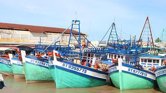 Cảng cá Trần Đề, Đại Ân 2, Trần Đề, Sóc Trăng