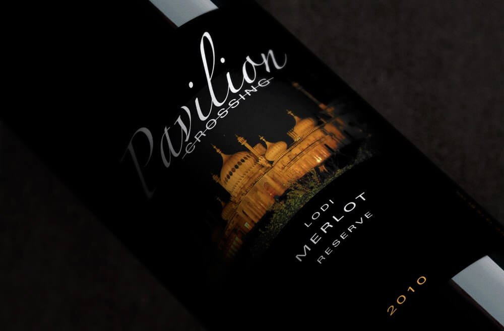 Branding and packaging design for California's Pavilion Crossing winery