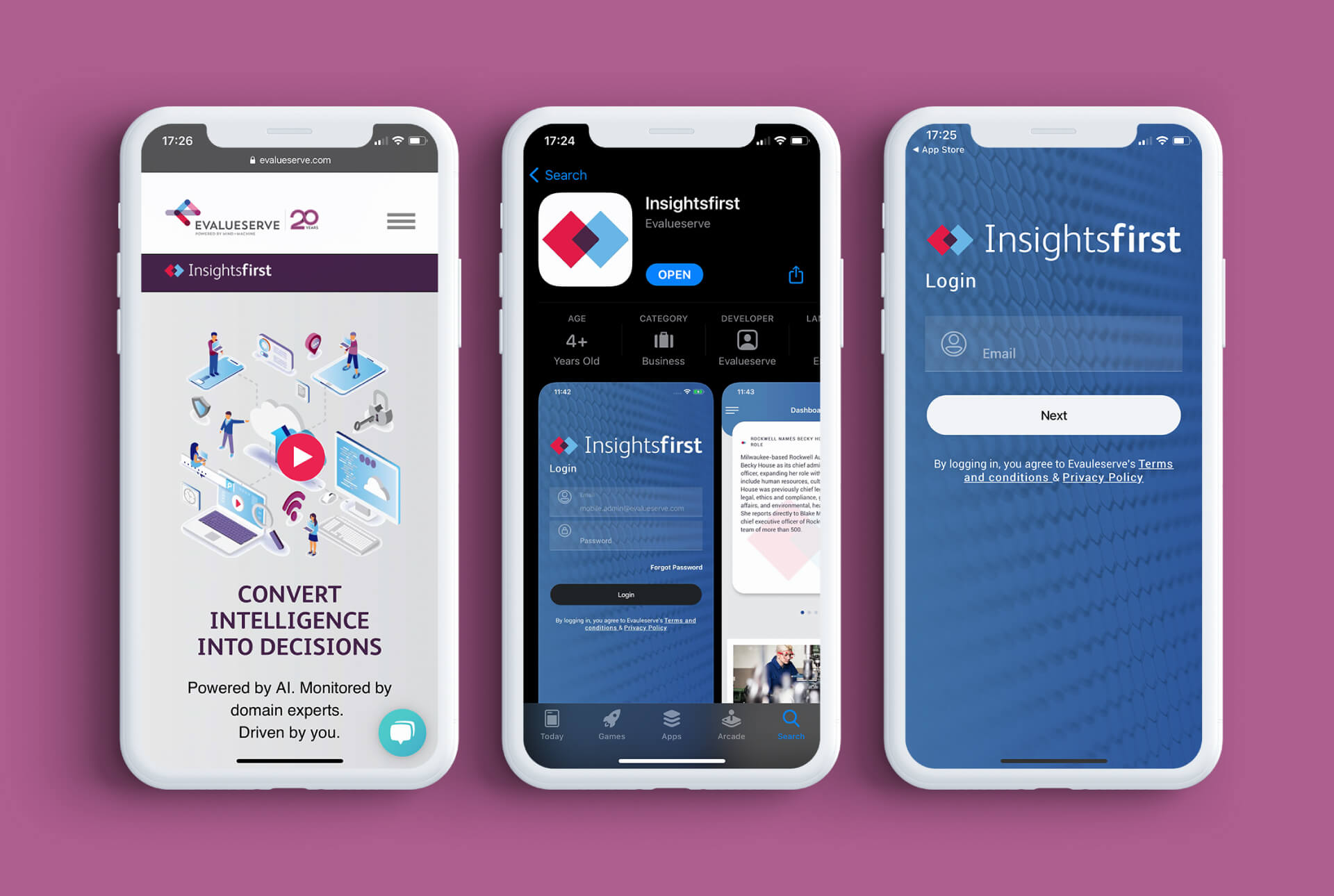 Branding for a digital platform that empowers corporations to get an edge in the marketplace
