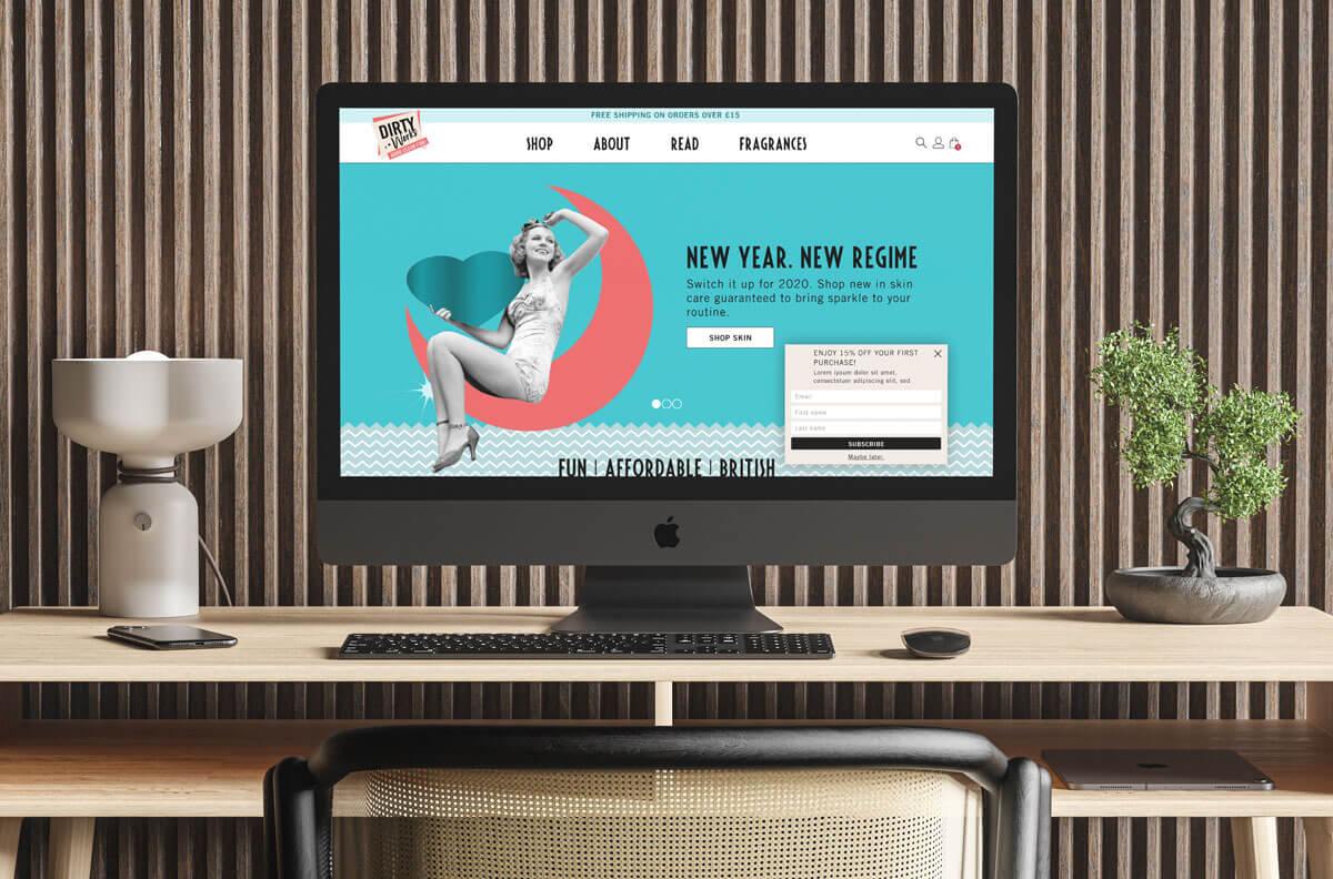 UI/UX Design for Brand Architekts, an AIM listed Beauty Brands business.
