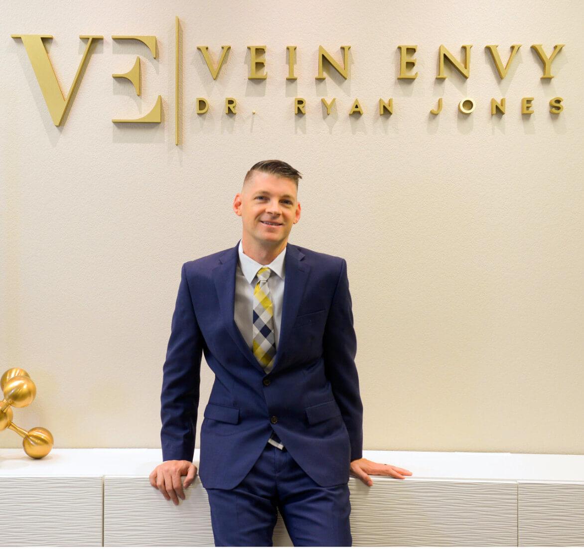 picture of Dr. Jones inside Vein Envy