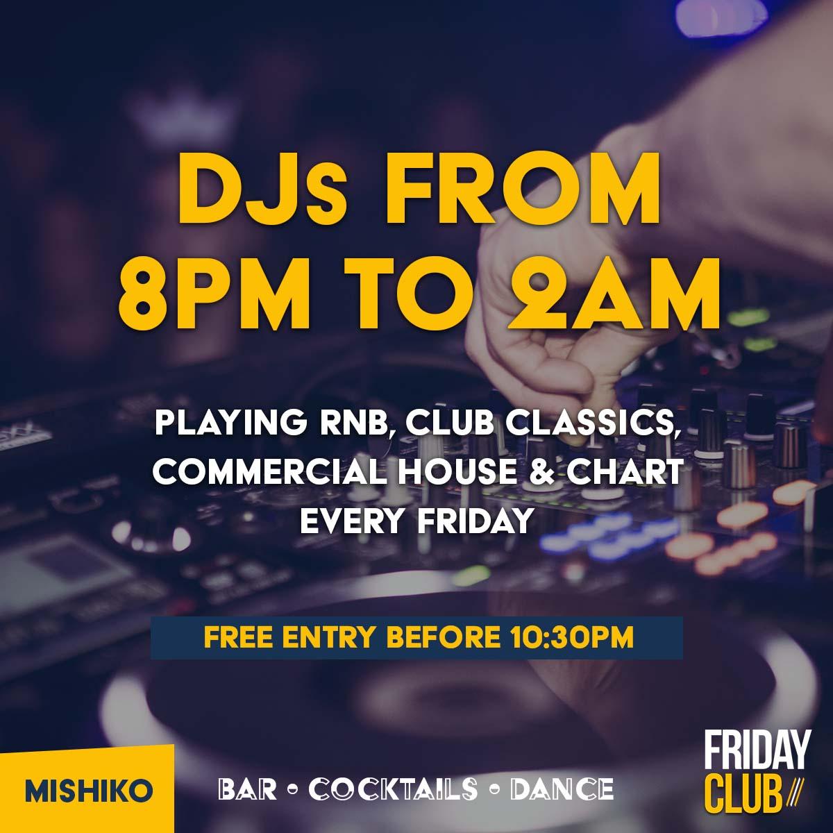 DJs at Mishiko