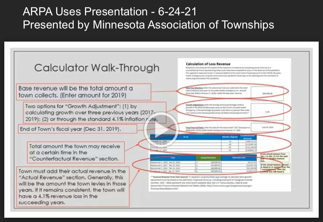 ARPA Uses Presentation