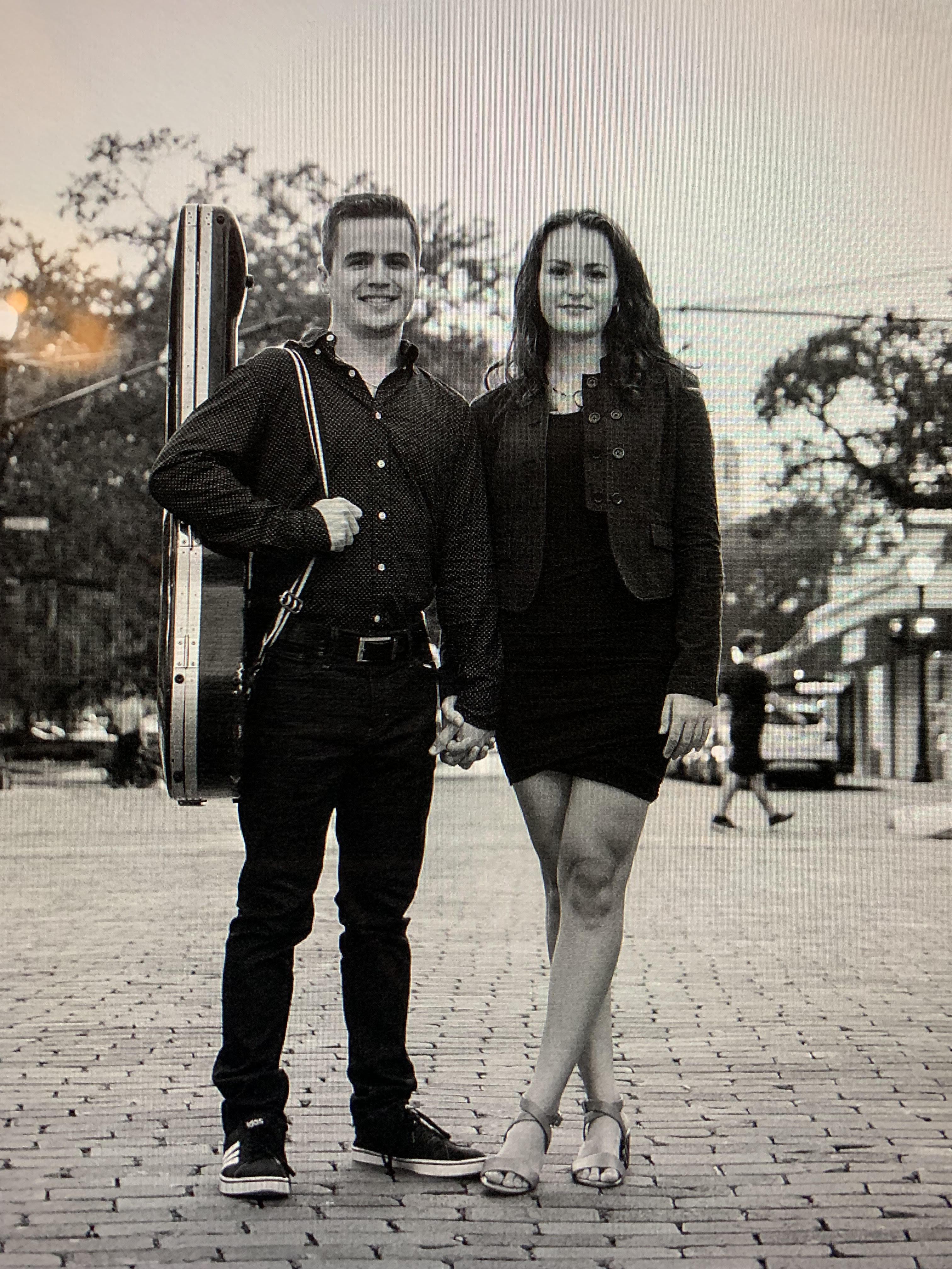 Erik and Giselle at the Vineyard Orlando