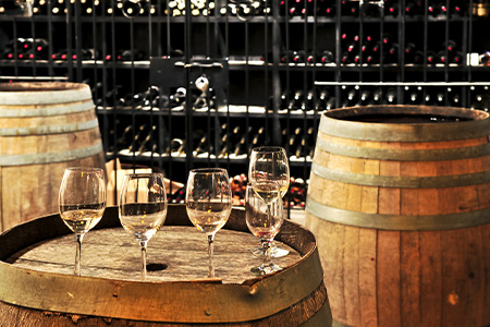 There are eight wineries close enough to fit three of them into an all-day tour and to include a delicious lunch as well, all included in the price of your tour.