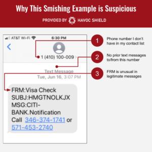 Smishing Identification - Step 3