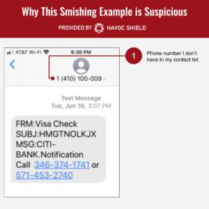 Smishing Identification - Step 1