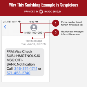 Smishing Identification - Step 2