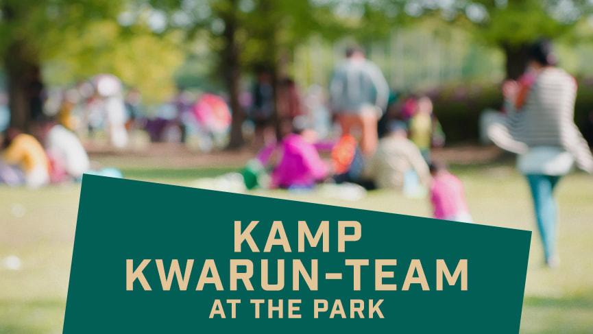 KAMP KWARUN-TEAM AT THE PARK