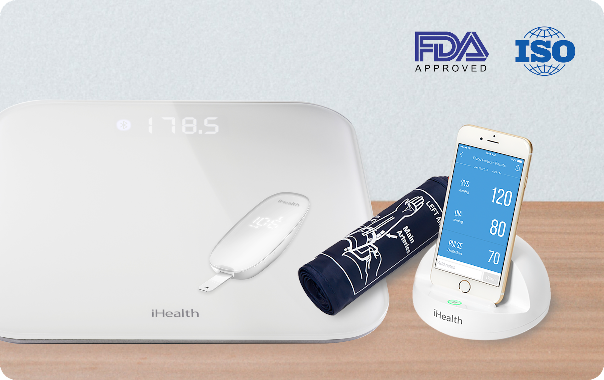 iHealth monitoring devices