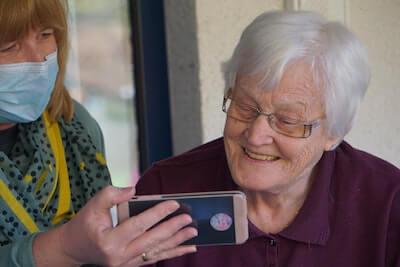 Retirement-visitors