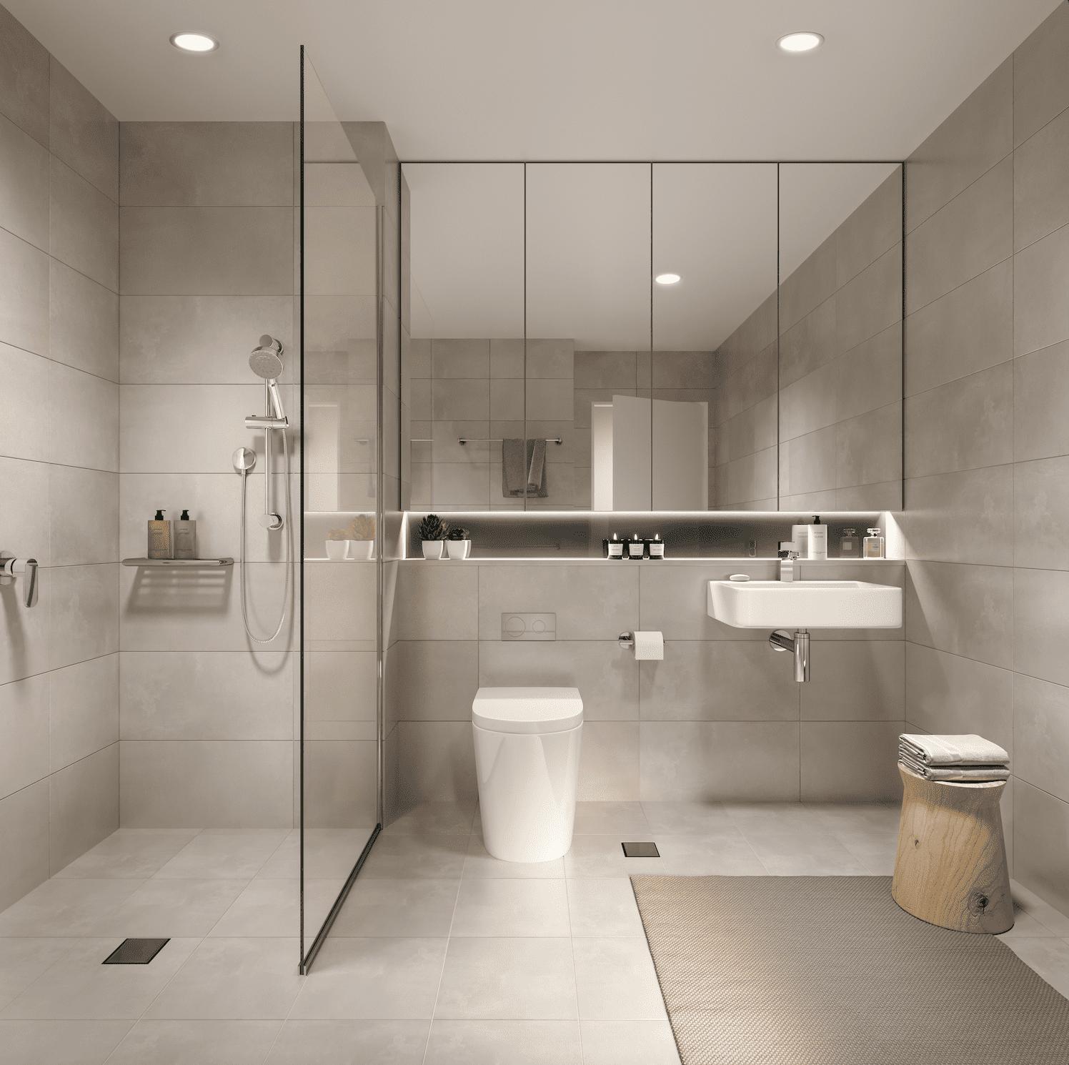 Interior Render - Bathroom