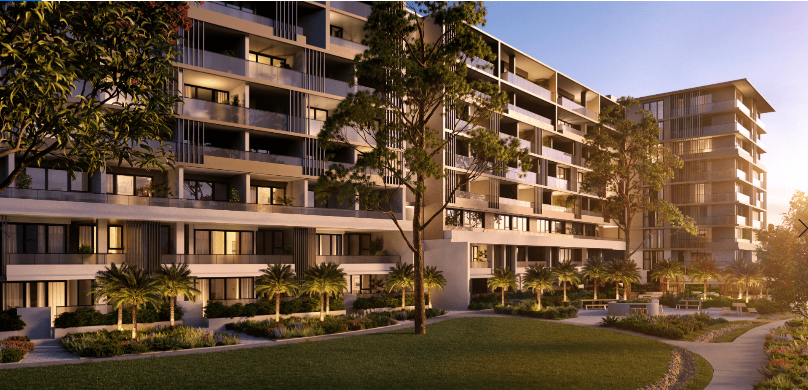 Residential Exterior Render - Apartments