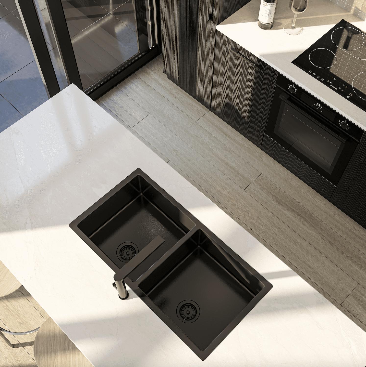 Residential Interior Render - Kitchen
