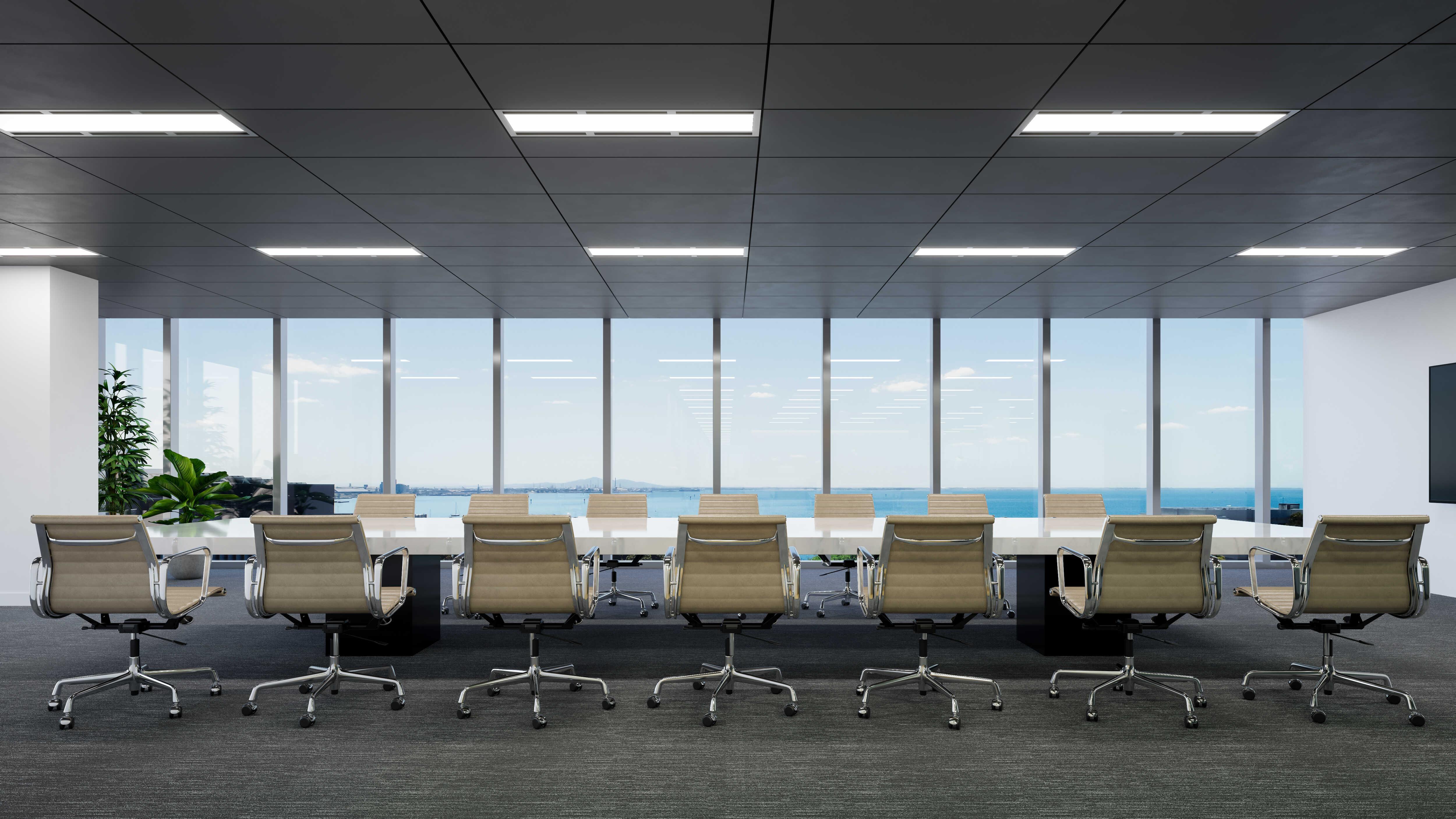 Commercial Interior Render - Board Room