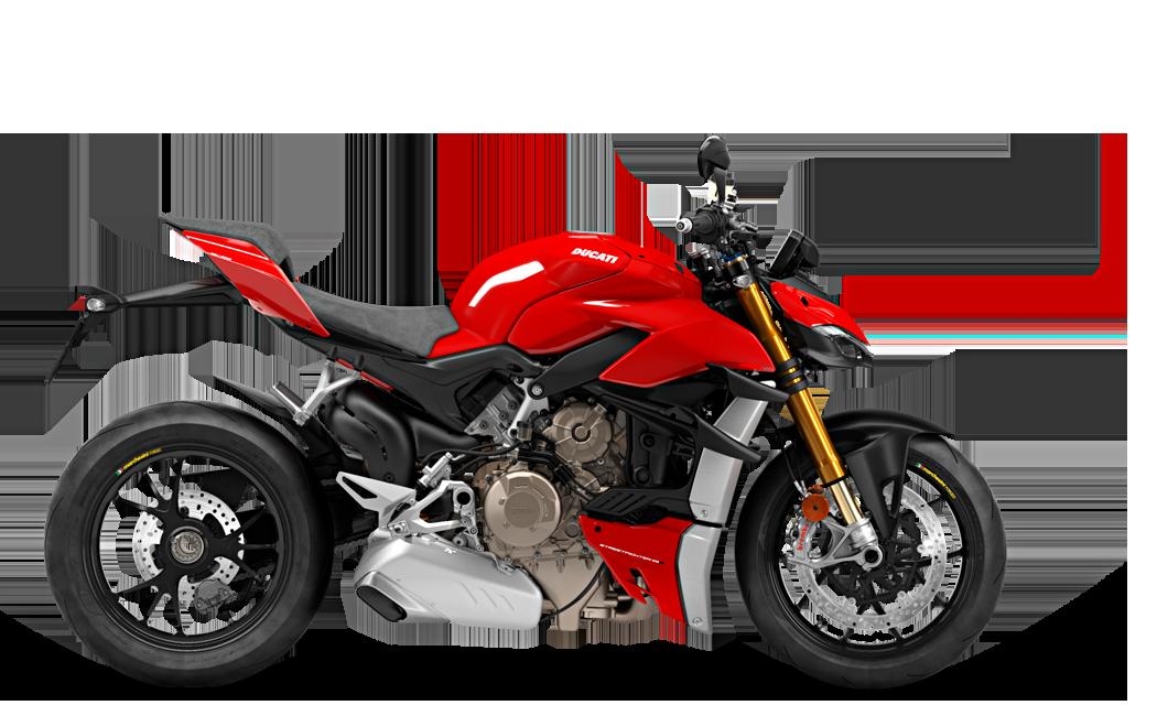 V4 S Streetfighter - Red