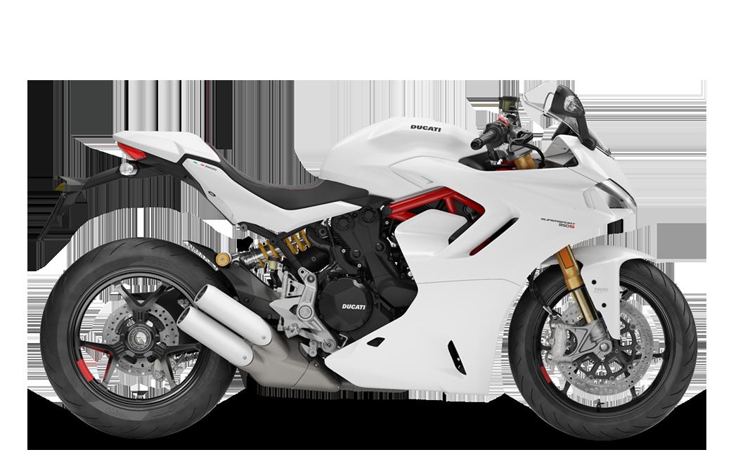 950 S Supersport - White