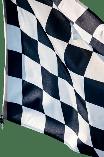 drapeau départ de la course