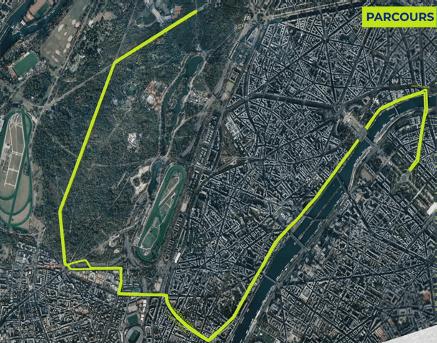 Parcours marathon rollers