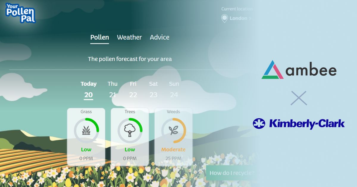 Pollen Pal - Ambee and Kimberly Clark Case Study