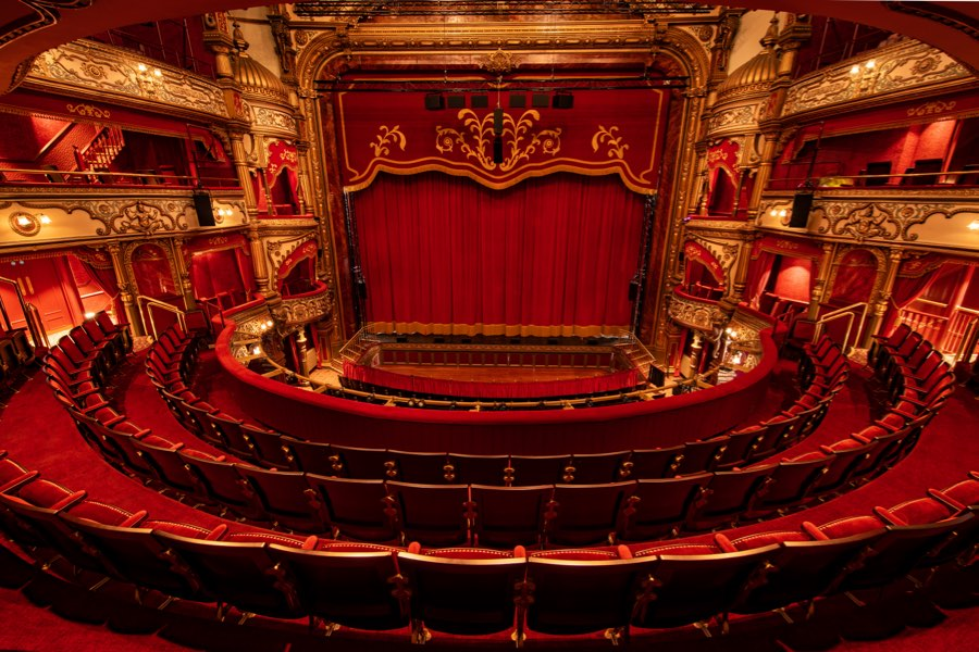 Welcome to the newly-restored theatre!