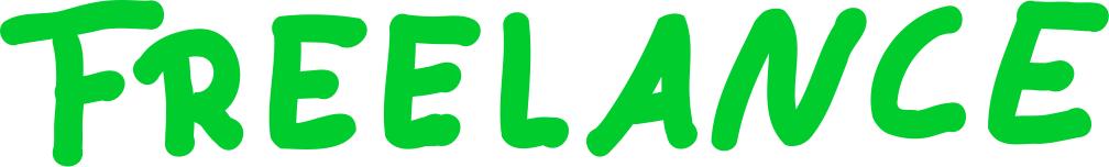 Freelance Schriftzug