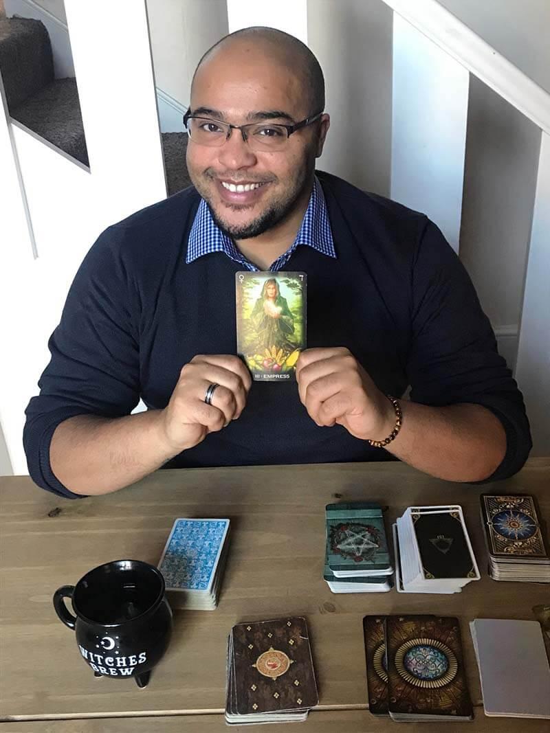Raphael Rey and tarot decks